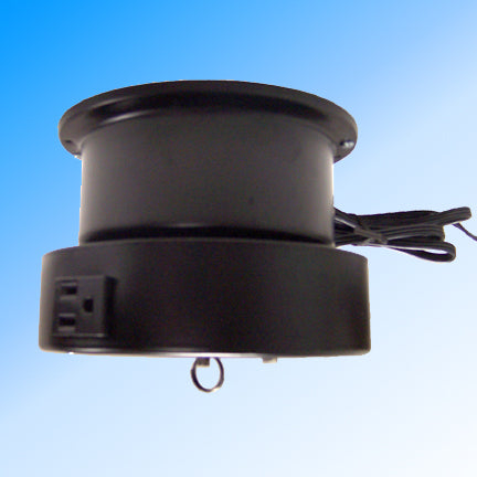 Ceiling Turner - AC Motor with 4 Amp Rotating Outlet - 15 lb Capacity