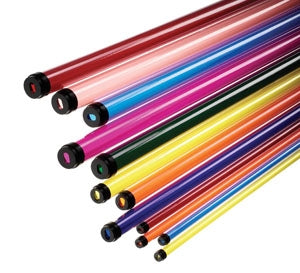 Fluorescent Tube Filters Standard Colors