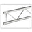 Global Truss IB-4053 12 inch x 9.84 ft. Ladder Stage Truss with 2 inch Tubing