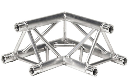 Global Truss 90 Degree Corner for 12 inch Triangle Truss with 2 inch Tubing
