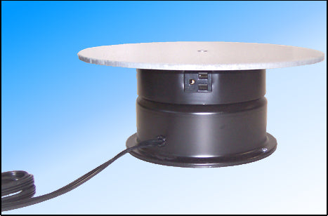 "12"" Top AC Motor Turntable with Rotating Outlet"
