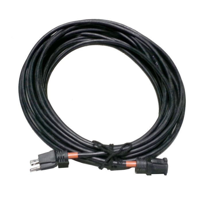 25 Foot Cable with Male & Female House Plug