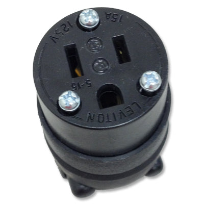Female 15 Amp U-Ground House Plug