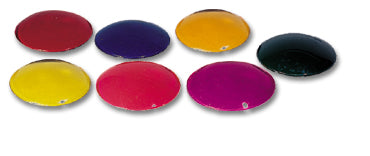 "Glass Color Filters - 3 1/2"" Diameter  up to 75 Watts"
