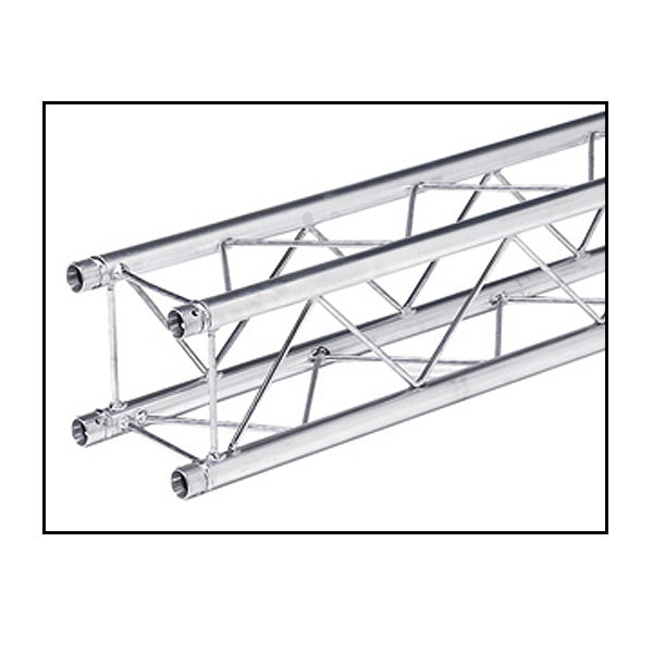 8 3/4 Inch Decorative Square Truss 11.48 Ft. Section