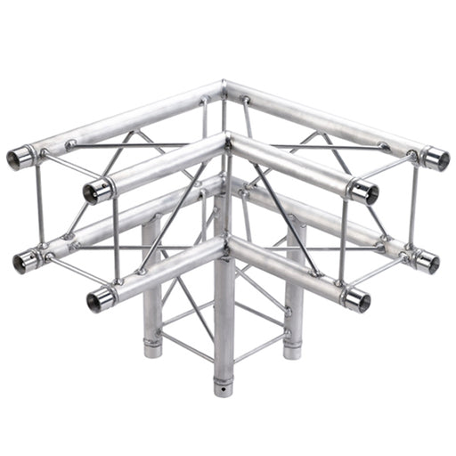 3 Way 90 Degree Corner for 8 3/4 Inch Decorative Square Truss