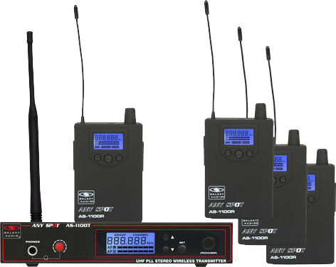 Galaxy Audio UHF Wireless In-Ear Monitor System