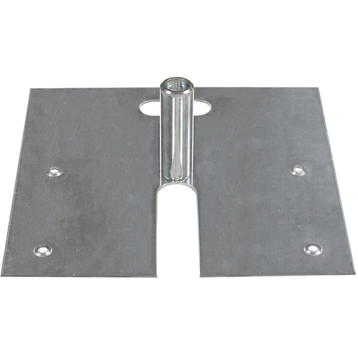 "18″ x 18″ Slip-Fit Base - 2"" x 6"" Pin"