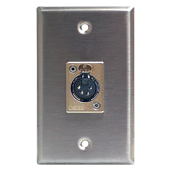 Lightronics CP402 female Wall Plate (Architectural)