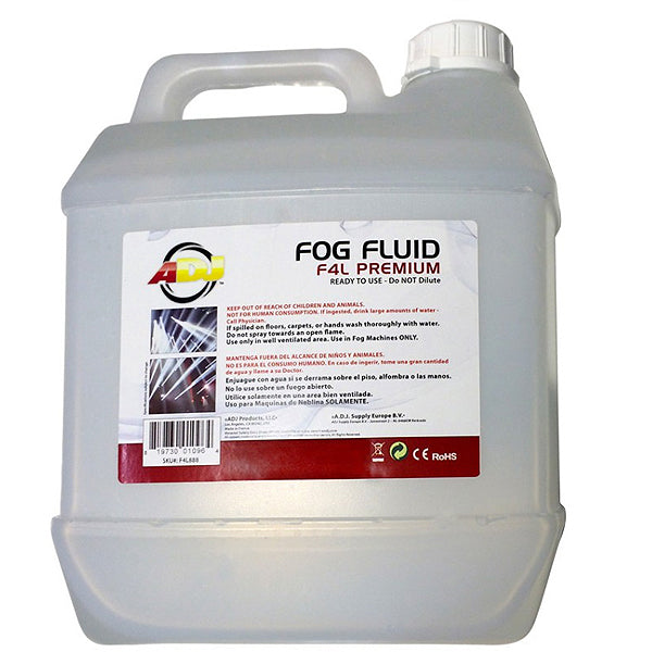 ADJ F4L Premium Fog Juice Four Liter Bottle