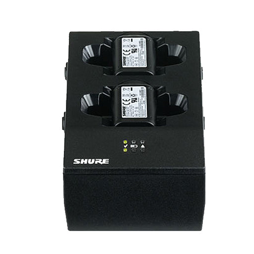 Shure Dual-Docking Shure Battery Charger without Power Supply.