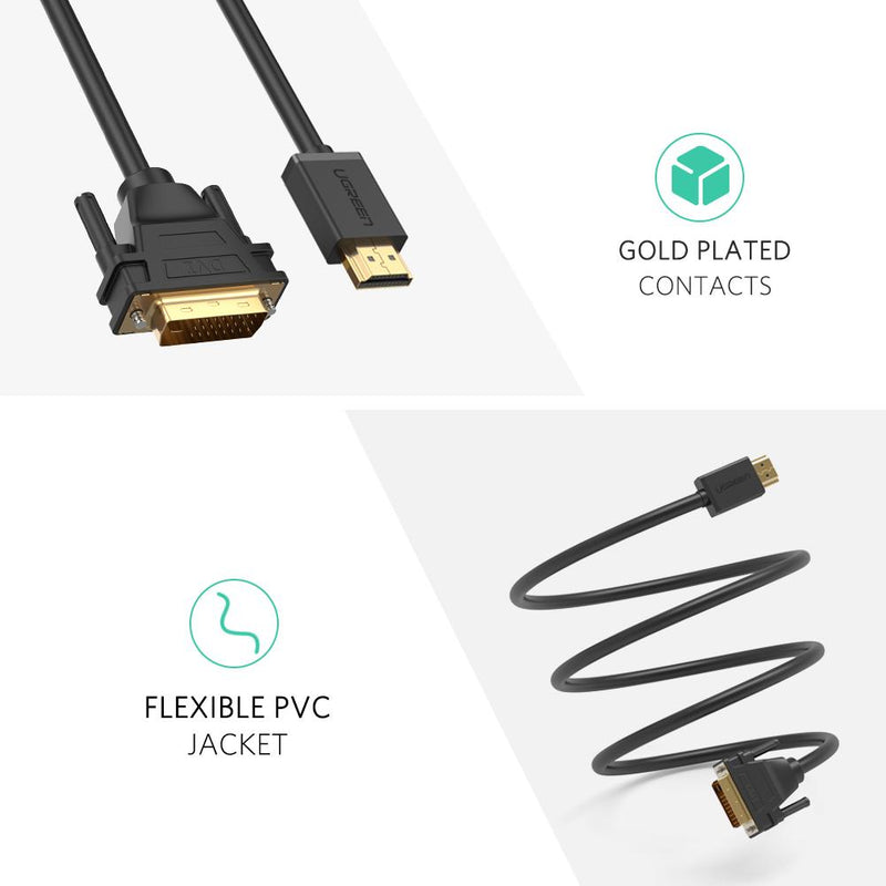 HDMI To DVI 24+1 Cable