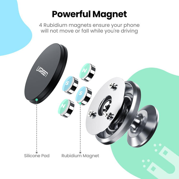 Magnetic Sticky Dashboard Phone Holder