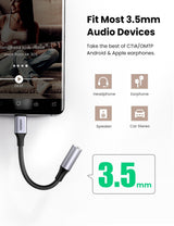 USB C to 3.5mm Headphone Adapter
