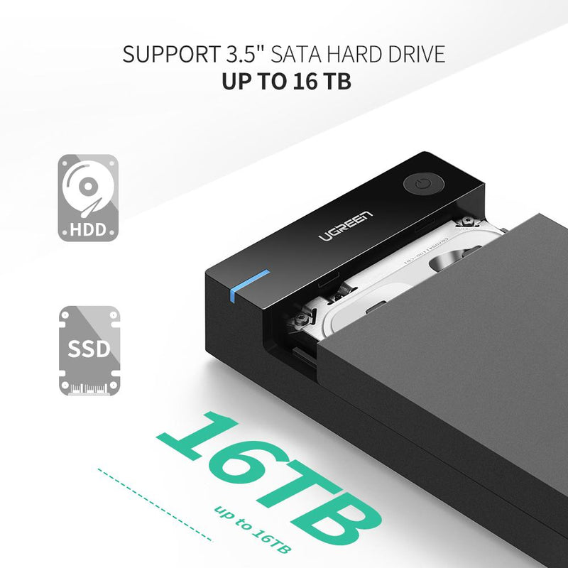 "3.5"" USB 3.0 Hard Drive Enclosure"
