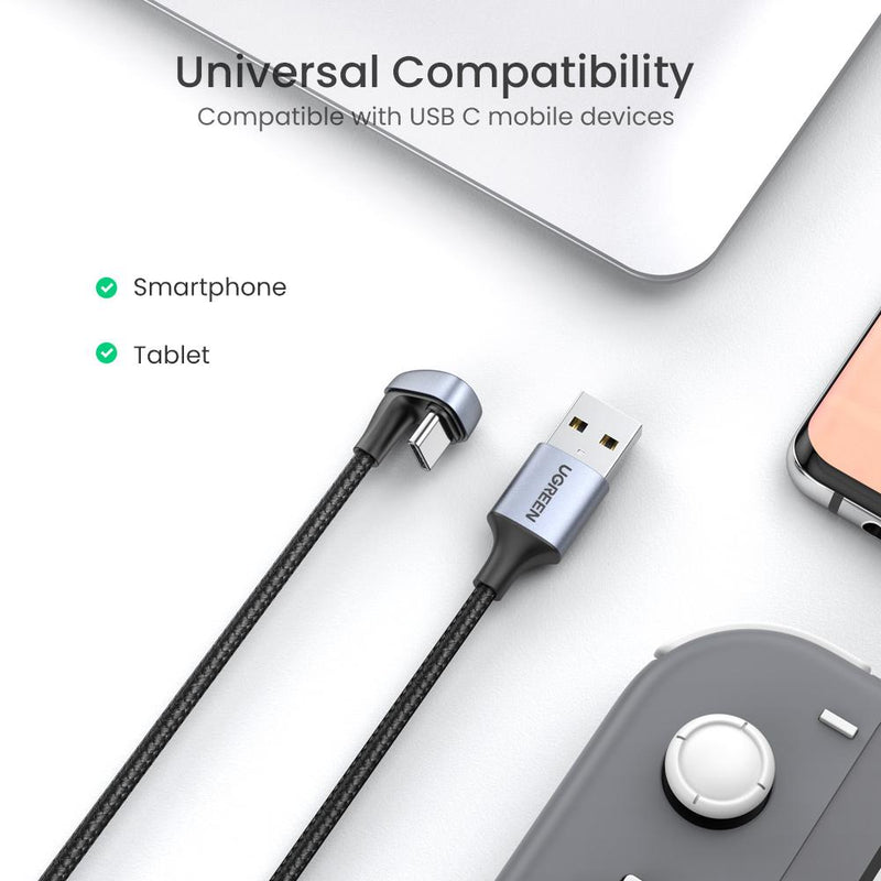 U Shape Fast Charging USB C Cable