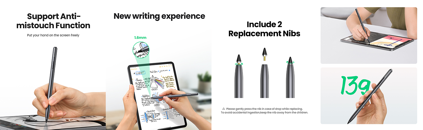 Active Capacitive Stylus Pen for iPad