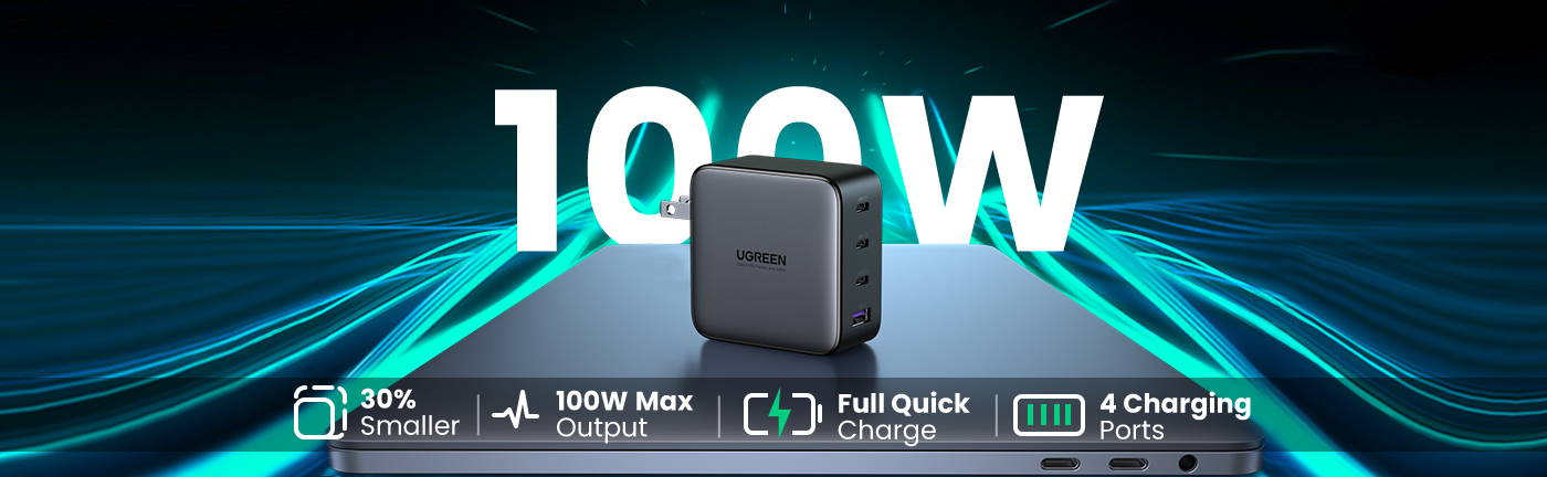 100W GaN Fast Charger