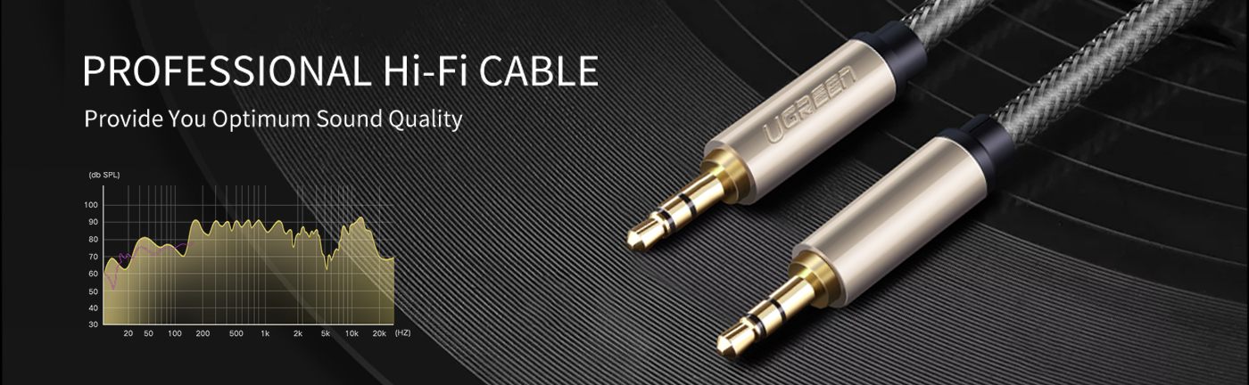 3.5mm Male to Male Aux Stereo Cable