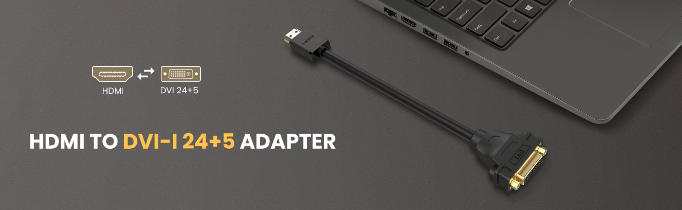 HDMI to DVI-I 24+5 Adapter