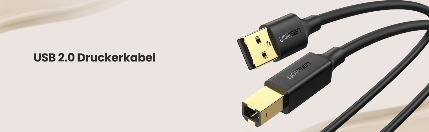 USB 2.0 Printer Scanner Cable