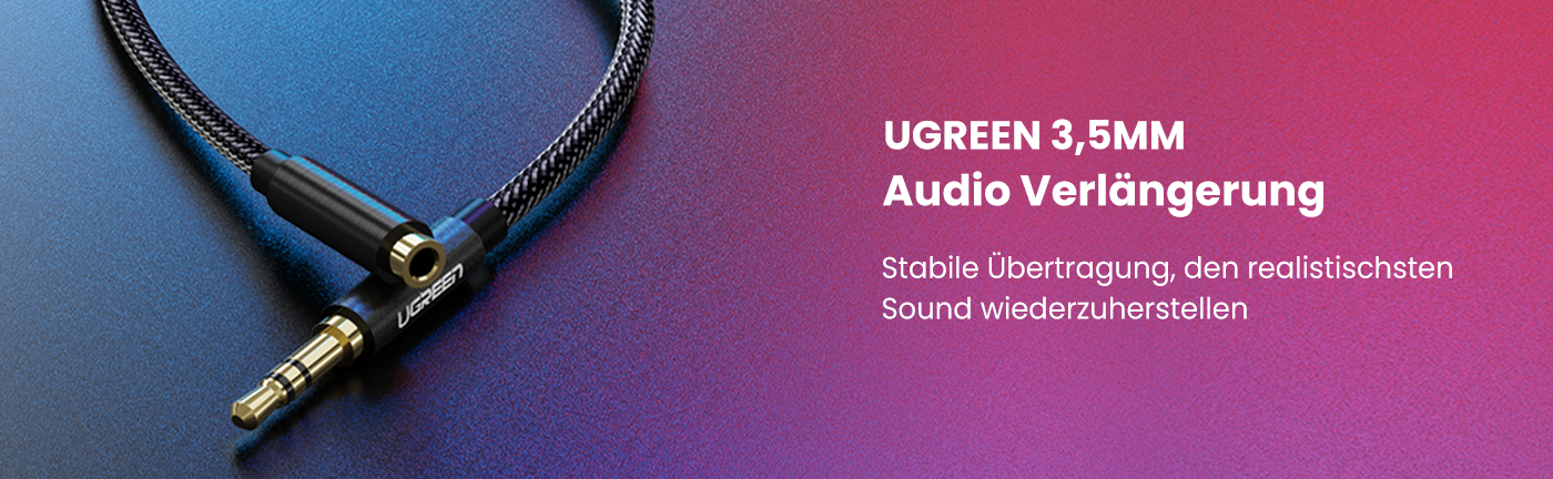 UGREEN 3.5mm Audio Extension Cable