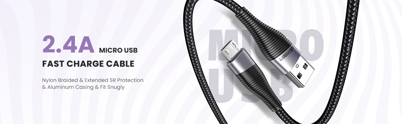 18W Micro USB Charging Cable