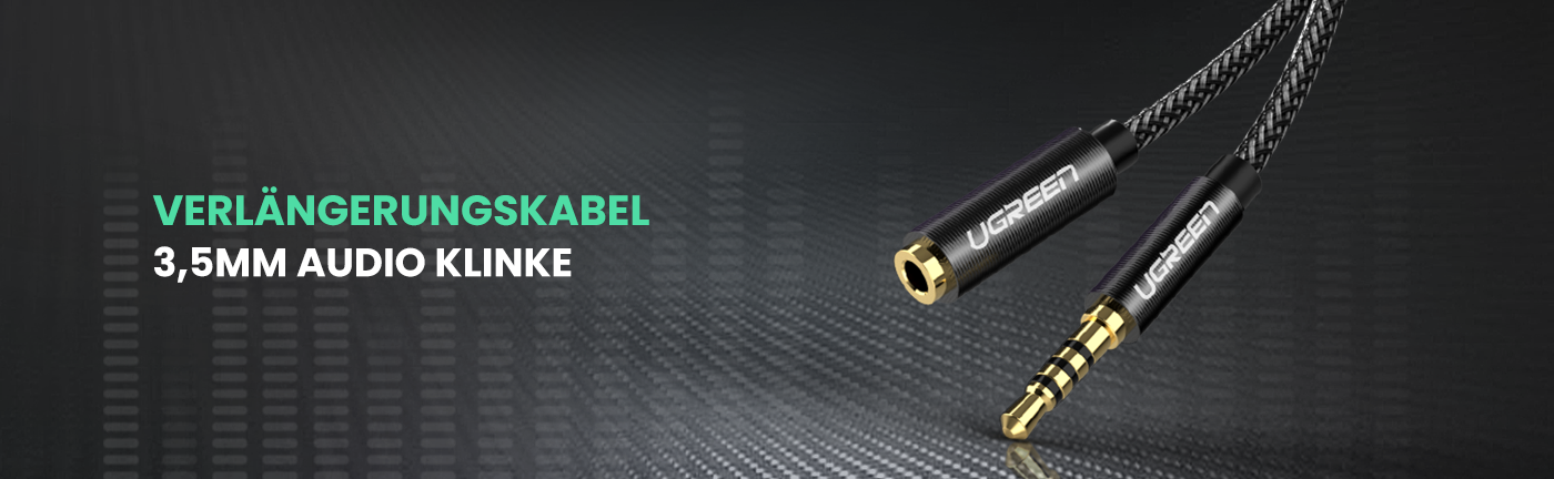 3.5mm Male to Female Audio Cable