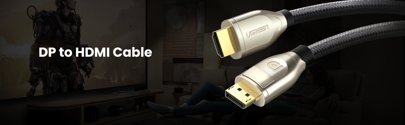 4K DP to HDMI Cable