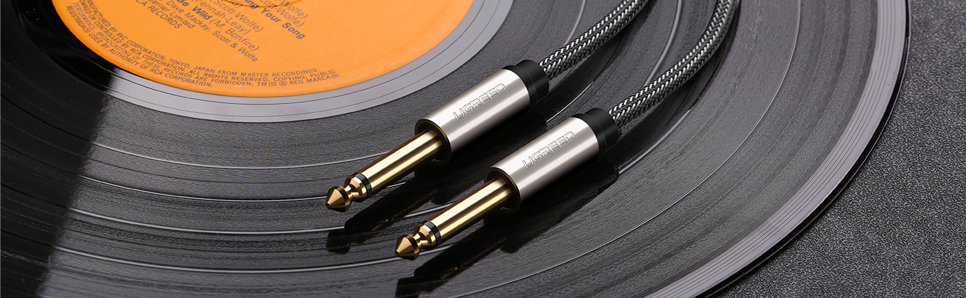 6.35mm Male to Male Audio Cable