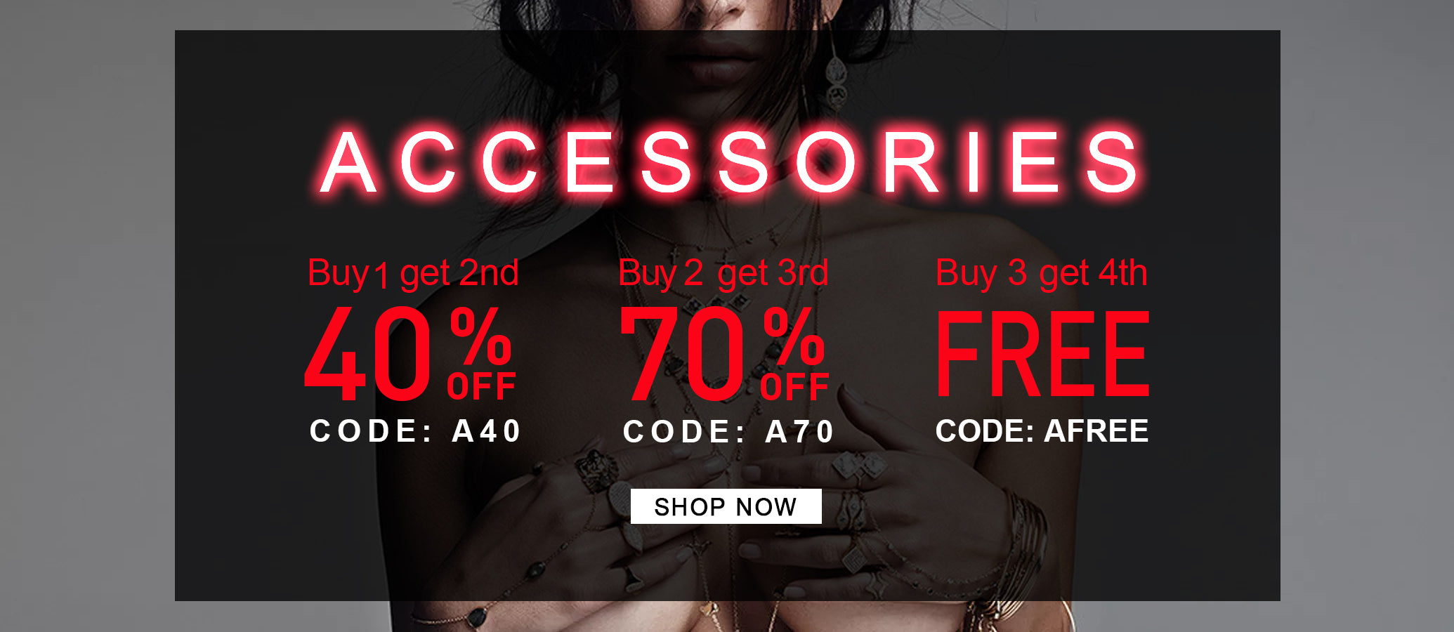 Accessories Cyber Monday Sale Banner