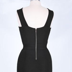 Halter Sleeveless Hollow Out Mini Bandage Dress PP19188 9 in wolddress