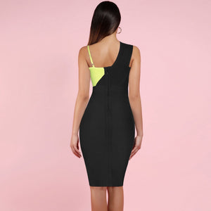 Strappy Sleeveless Slit Over Knee Bandage Dress HK19154 2 in wolddress