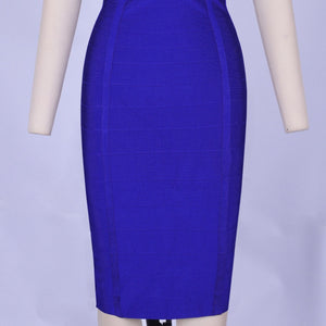Round Neck Sleeveless Striped Mini Bandage Dress HG291 8 in wolddress