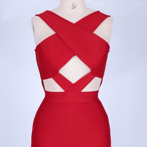 Halter Sleeveless Hollow Out Mini Bandage Dress PP19188 20 in wolddress