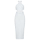 High Neck Sleeveless Cut Out Over Knee Bandage Dress HB7241 2 in wolddress