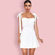 White Bodycon Dress HI1163 1