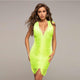 Green Bandage Dress HT2361 1