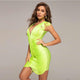 Green Bandage Dress HT2361 2