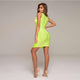 Green Bandage Dress HT2361 3