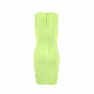 Green Bandage Dress  5
