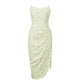 Yellow Green Bandage Dress PP1155 3