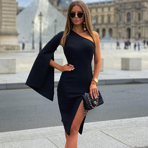 Black Bandage Dress PP20002 1