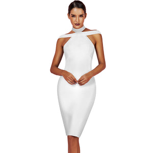 Backless Sleeveless Bandage Dress PPHB720
