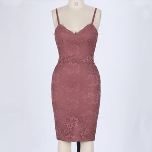 Strappy Sleeveless Lace Over Knee Bandage Dress HJ634 5 in wolddress