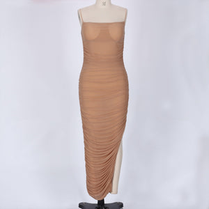 Strappy Sleeveless Mesh Maxi Bandage Dress SP061 3 in wolddress