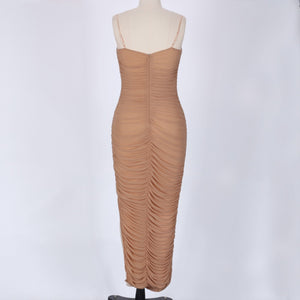 Strappy Sleeveless Mesh Maxi Bandage Dress SP061 5 in wolddress