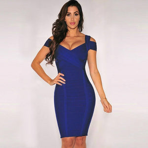 Round Neck Sleeveless Striped Mini Bandage Dress HG291 1 in wolddress