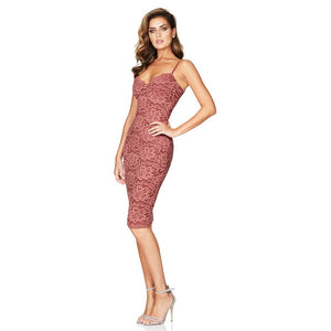 Strappy Sleeveless Lace Over Knee Bandage Dress HJ634 3 in wolddress