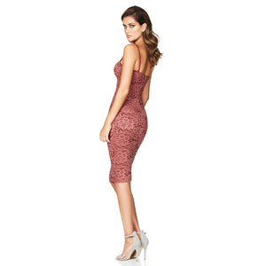 Strappy Sleeveless Lace Over Knee Bandage Dress HJ634 4 in wolddress